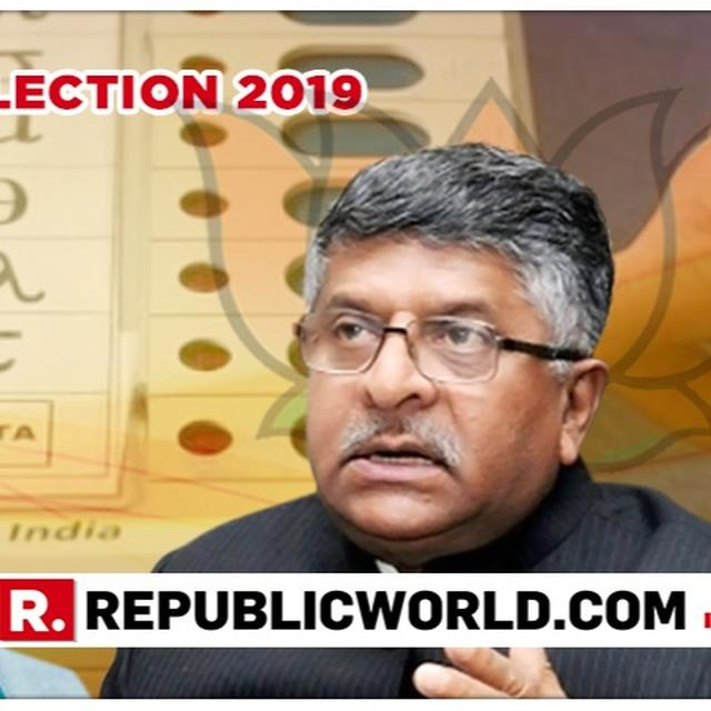 MOUTHWATERING PATNA SAHIB CONTEST LOOMS, CONGRESS FIELDS SHATRUGHAN SINHA AGAINST BJP'S RAVI SHANKAR PRASAD IN ELECTIONS 2019
