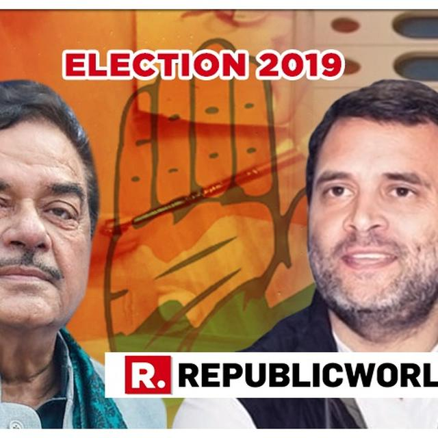 WATCH: SHATRUGHAN SINHA OPENS UP ON JUMPING SHIPS FROM BJP TO CONGRESS DAYS AHEAD OF LOK SABHA POLLS IN AN EXCLUSIVE INTERVIEW TO REPUBLIC BHARAT