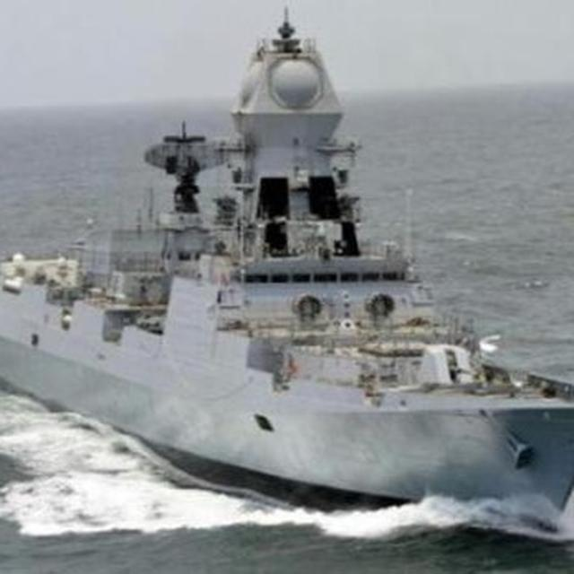 TWO INDIAN NAVAL SHIPS TO TAKE PART IN CHINESE NAVY'S 70TH ANNIVERSARY CELEBRATIONS