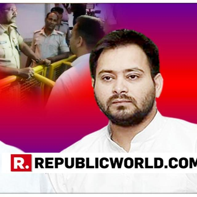"WATCH: ""DICTATORIAL BJP GOVT NOT ALLOWING A SON TO MEET HIS FATHER,"" SAYS TEJASHWI YADAV ALLEGING 'CONSPIRACY' AGAINST HIS FAMILY"