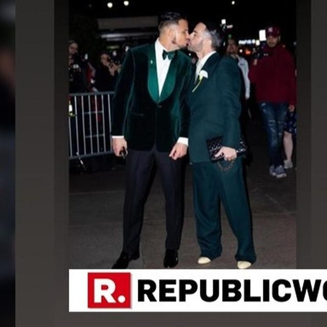 IN PICTURES |  FASHION DESIGNER MARC JACOBS TIES THE KNOT WITH LONG TIME BOYFRIEND CHARDEFRANCESCO