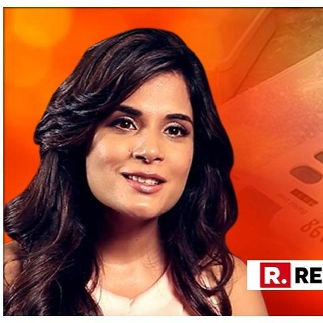 RICHA CHADHA APPLAUDS THE ARTISTS FRATERNITY FOR TAKING A STAND, SAYS '#UNGLIDIKHAO, VOTE CONSCIOUSLY AND MAKE IT COUNT'