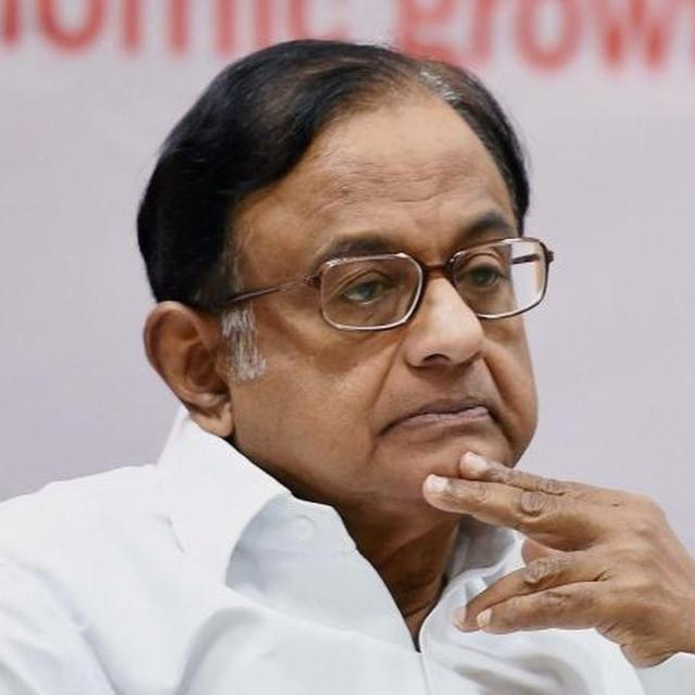 I-T RAIDS AT RESIDENCE AIMED AT CRIPPLING LOK SABHA ELECTION CAMPAIGN, ALLEGES CONGRESS LEADER P CHIDAMBARAM