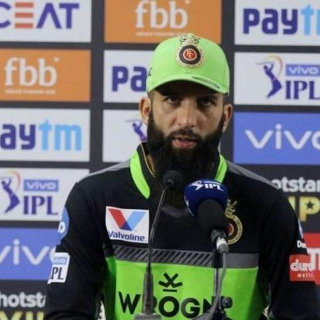 """""""OUR SHOT SELECTION WASN'T GOOD"""", SAYS MOEEN ALI ON RCB'S SIXTH STRAIGHT LOSS OF IPL 2019"""