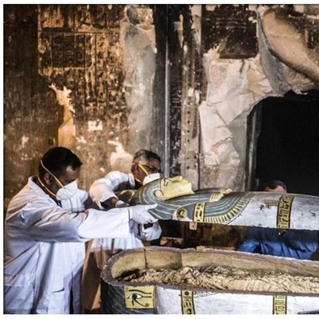 WATCH: SARCOPHAGUS OPENED, 2,500-YEAR OLD MUMMY FOUND