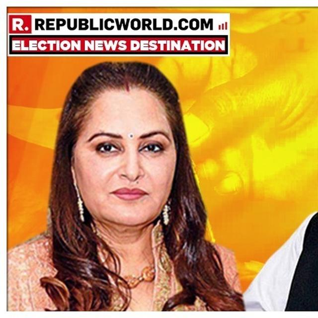 BJP'S JAYA PRADA LAUNCHES STRONGEST EVER ATTACK ON SP'S AZAM KHAN FOR HIS DEROGATORY REMARKS, SAYS 'HE IS FIGHTING ELECTION TO LEGALISE HIS ACTS'