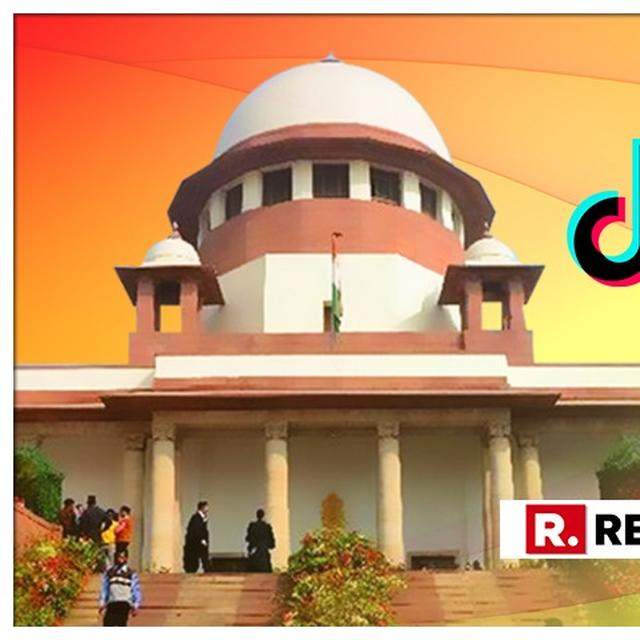 SUPREME COURT REFUSES URGENT LISTING OF PLEA AGAINST HIGH COURT ORDER ASKING CENTRE TO BAN TIKTOK APP