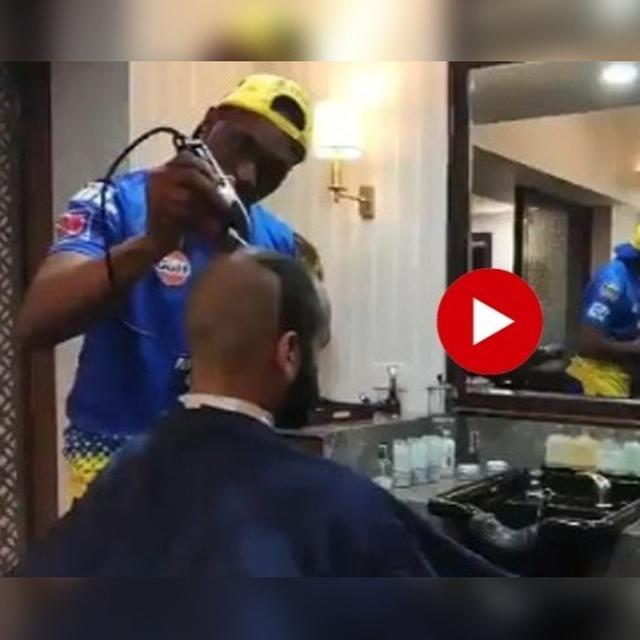 WATCH: THIS VIDEO OF DWAYNE BRAVO BECOMING A STYLIST WILL LEAVE YOU AMAZED