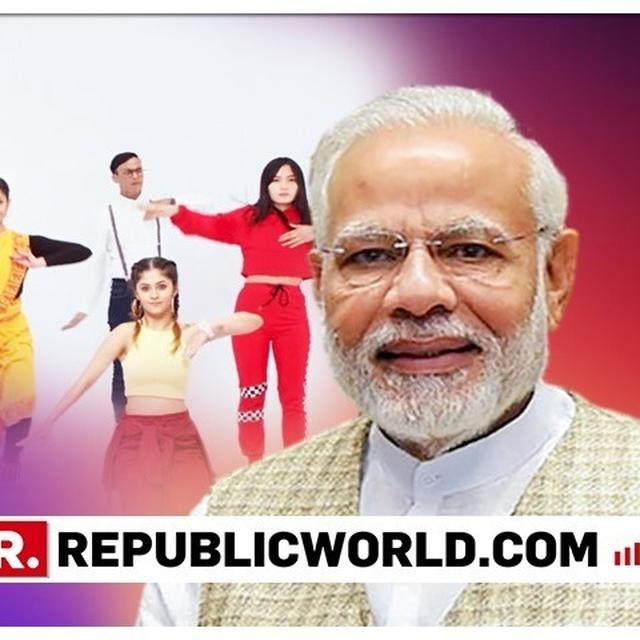 WATCH: BJP RELEASES COLOURFUL 'MY FIRST VOTE FOR MODI' RAP NUMBER, PITCHES ITS SCHEMES SAYING 'MY FIRST TO THE ONE, ONE AND ONLY ONE WHO HAS GOT EVERYTHING DONE'