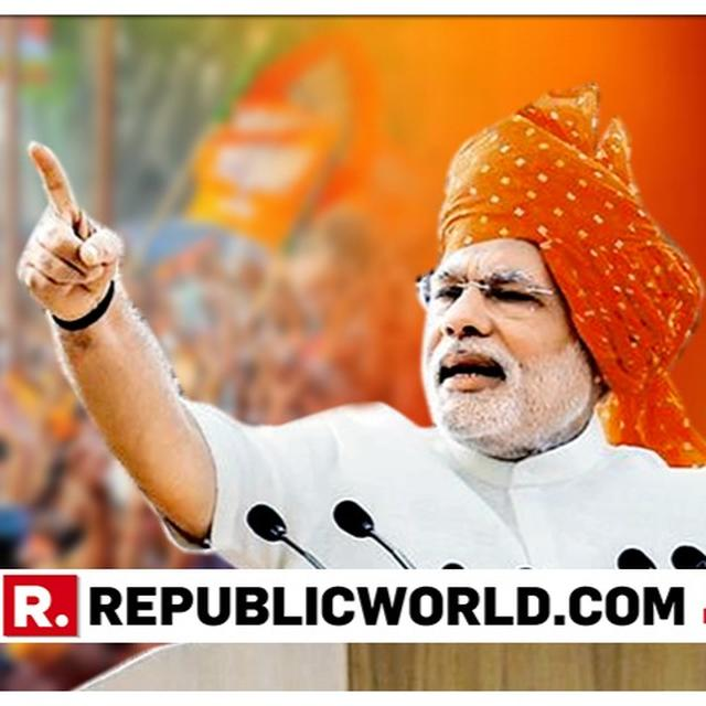 CONGRESS IS RESPONSIBLE FOR THE CREATION OF PAKISTAN, SAYS PM NARENDRA MODI