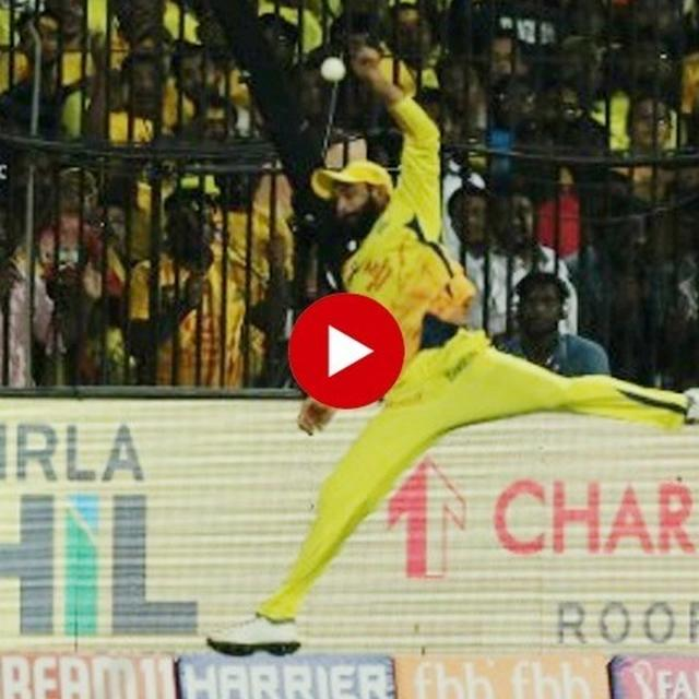 WATCH: RAVINDRA JADEJA'S UNBELIEVABLE SPRINT SAVES A CERTAIN SIX