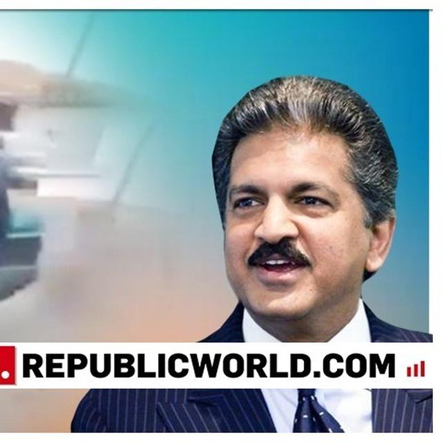 'SEEMS INDIANS AREN'T THE ONLY ONES WITH A GIFT OF JUGAAD', ANAND MAHINDRA'S TWEET ON A MODIFIED TWO-WHEELER IS HILARIOUS