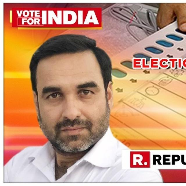 'SACRED GAMES' ACTOR PANKAJ TRIPATHI HAS A MESSAGE AHEAD OF THE FIRST PHASE OF ELECTIONS 2019. HERE'S WHAT HE SAID