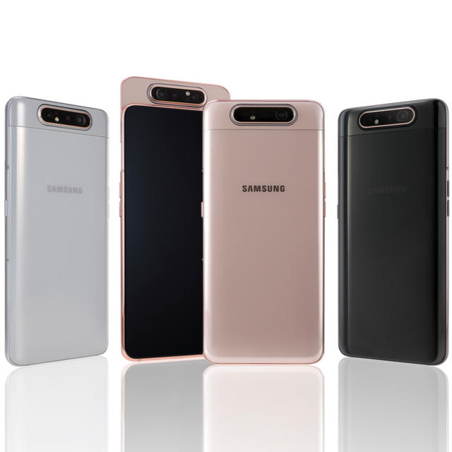 SAMSUNG'S GALAXY A80 HAS AN ALL-NEW INFINITY DISPLAY WITH NO NOTCH AND ROTATING CAMERAS