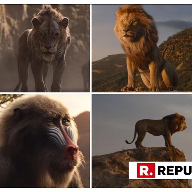 'LION KING' TRAILER | SIMBA IS BACK IN LIVE ACTION AND NETIZENS ARE 'CRYING' WITH EXCITEMENT