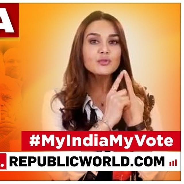 WATCH: 'IT'S THE BEST THING YOU CAN DO FOR YOUR COUNTRY': PREITY ZINTA HAS AN IMPORTANT MESSAGE FOR THE CITIZENS AS LOK SABHA ELECTIONS BEGIN