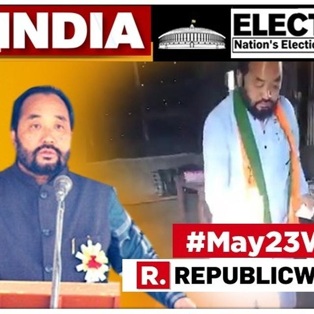 NAGALAND CONGRESS POSTS VIDEO ALLEGING DEPUTY CM YANTHUNGO PATTON ENTERED POLLING BOOTH WEARING BJP SCARF, CAST VOTE EIGHT TIMES