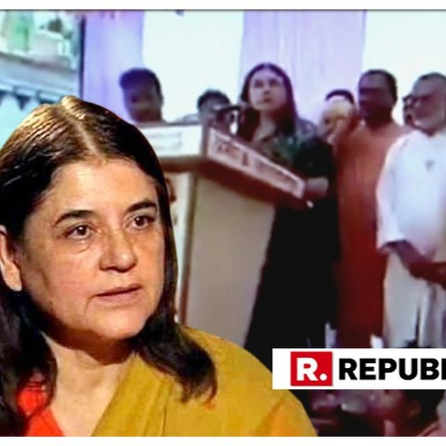 SHOCKER: 'WON'T HELP MUSLIMS IF THEY DON'T GIVE BACKING, DON'T SEE THE POINT', SAYS MANEKA GANDHI IN CONTROVERSIAL SPEECH