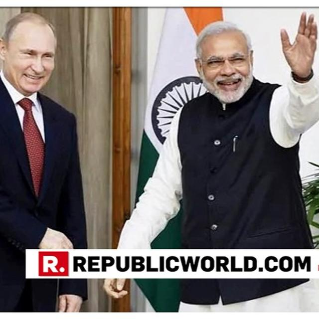 AFTER UAE, PM NARENDRA MODI NOW CONFERRED WITH RUSSIA'S HIGHEST DECORATION - ORDER OF ST ANDREW THE APOSTLE. READ RUSSIA'S STATEMENT HERE
