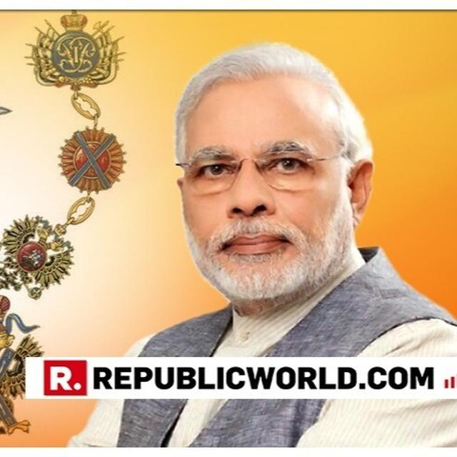 ALL YOU NEED TO KNOW ABOUT 'ORDER OF ST. ANDREW THE APOSTLE' AWARDED TO PM NARENDRA MODI BY RUSSIA