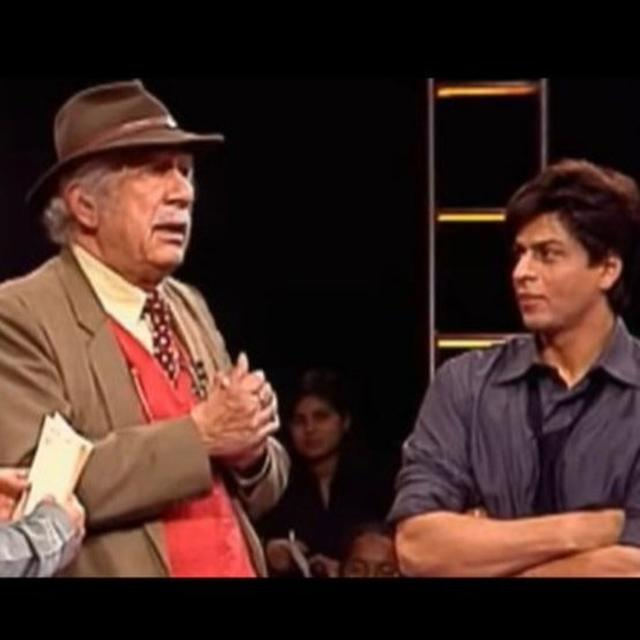 'HE LOVED ME SO MUCH...AND HE WAS SO JOVIAL,' SHAH RUKH KHAN REMEMBERS COL RAJ K KAPOOR FOR MAKING HIM A 'FAUJI OUT OF A BOY'