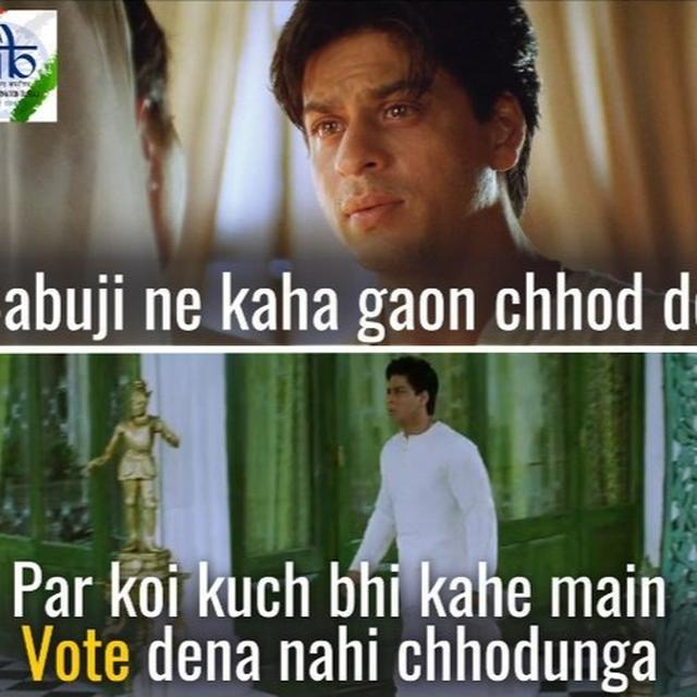 'WAAH DEV BAABU', PIB'S LATEST SPIN ON PROMOTING 'VOTE FOR INDIA' USING 'DEVDAS DIALOGUE' GOES VIRAL