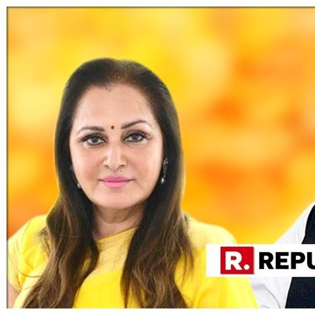 WATCH: BJP'S JAYA PRADALEVELS SENSATIONAL CHARGES AGAINST SP'S AZAM KHAN, SAYS 'MY INDECENT PHOTOS WERE CIRCULATED IN RAMPUR'