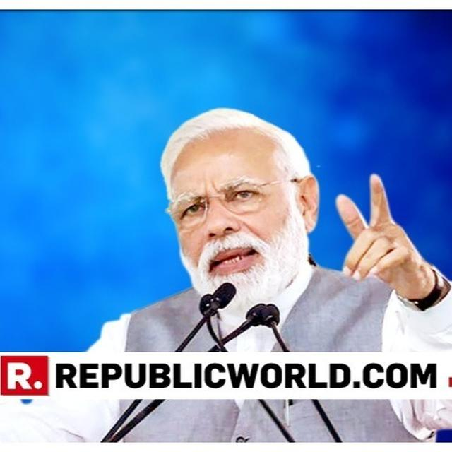 """PM MODI CORNERS CONG ON """"NYAY,"""" ASKS JUSTICE FOR """"ANYAY"""""""