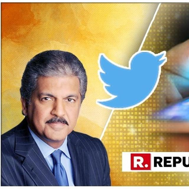 BUSINESS TYCOON ANAND MAHINDRA SHARES IMAGE OF HIS 'LATEST SCREEN SAVER' AND IT FEATURES HIS 'HERO'
