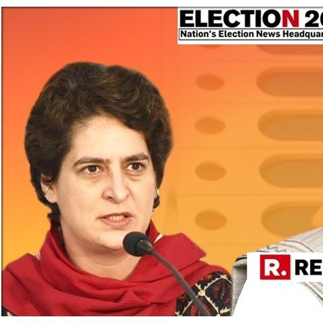 POLITICAL SCOOP: CONGRESS MAY FIELD PRIYANKA VADRA DIRECTLY AGAINST PM MODI IN VARANASI, PRESSURE BUILDS ON RAHUL GANDHI TO DECIDE EVEN AS TDP & NCP NOD IN APPROVAL