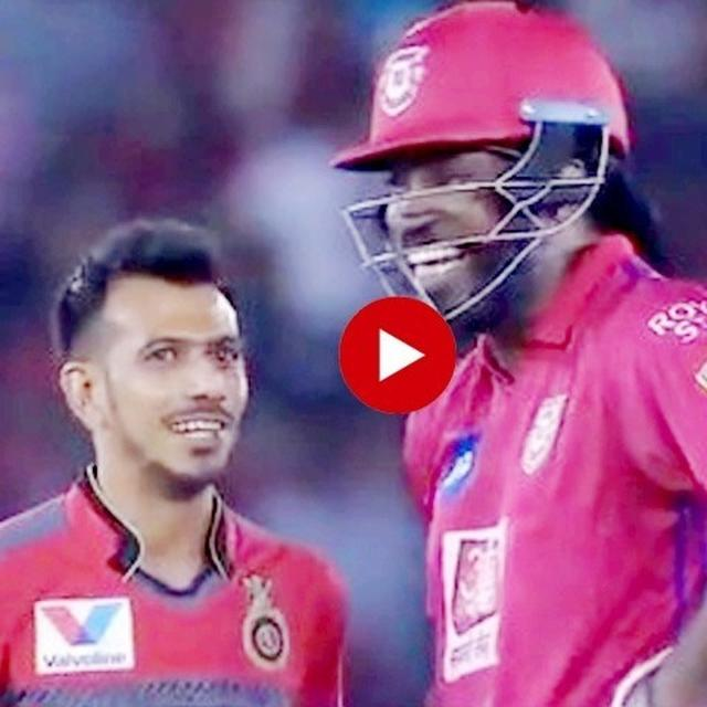 WATCH: CHRIS GAYLE AND YUZVENDRA CHAHAL'S ON-FIELD BROMANCE IS TOO CUTE TO BE MISSED