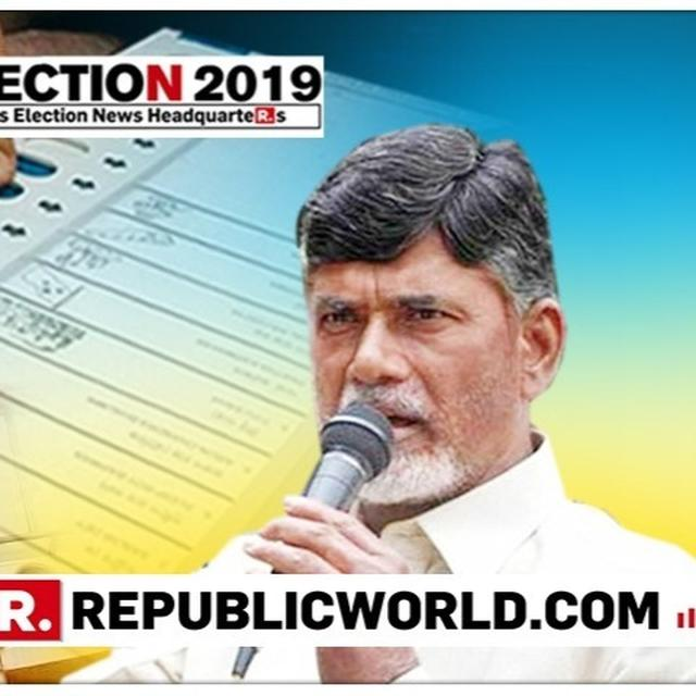 ANDHRA CM NAIDU RESPONDS ON EC'S LETTER; SAYS IT IS DIVERTING FROM THE REAL ISSUE OF EVM MALFUNCTIONING