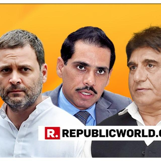 """WATCH: CONGRESS' RAJ BABBAR RAKES UP CONTROVERSY, CONFIRMS 'FAMILY FIRST' POLICY WITH """"WHO WILL SAY NO TO ROBERT VADRA?"""" REMARK"""