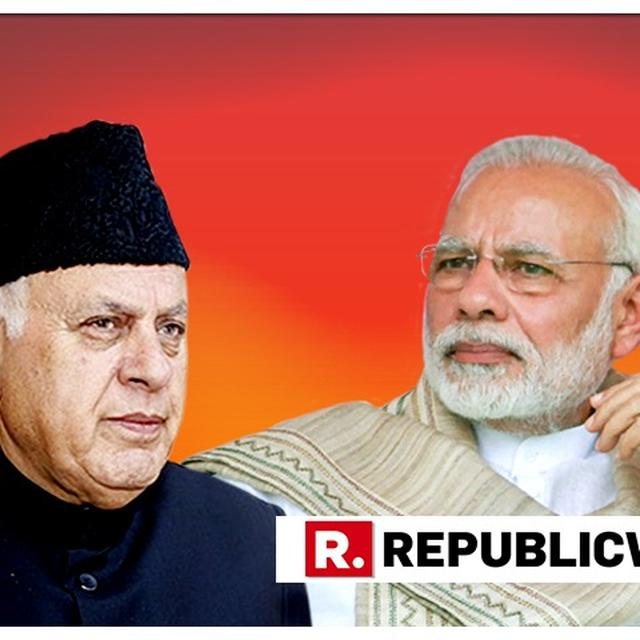 "FAROOQ ABDULLAH STIRS CONTROVERSY, LABELS PM MODI AND AMIT SHAH AS ""BIGGEST ENEMIES OF PEOPLE"""
