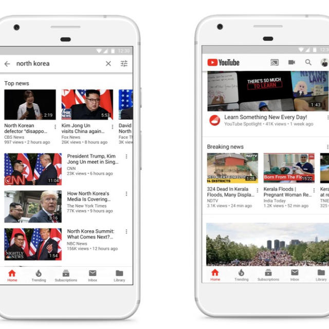 YOUTUBE WILL NOW LET YOU KNOW IF A NEWS CHANNEL YOU'RE WATCHING IS FUNDED BY THE GOVERNMENT