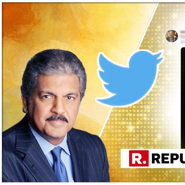 UNMISSABLE: ANAND MAHINDRA SHARES AN INSPIRATIONAL MESSAGE THAT WILL TURN YOUR FROWN UPSIDE DOWN
