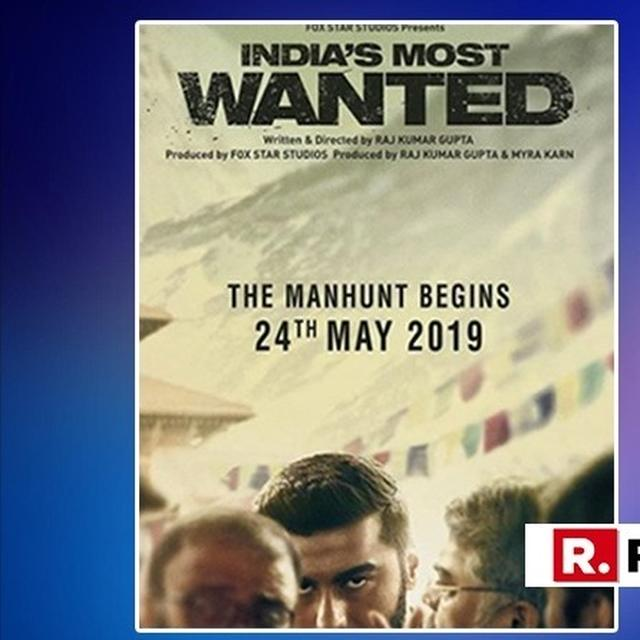 MALAIKA ARORA HAS AN INTERESTING TAKE ON ARJUN KAPOOR'S 'INDIA'S MOST WANTED' POSTER, HERE'S WHAT IT IS