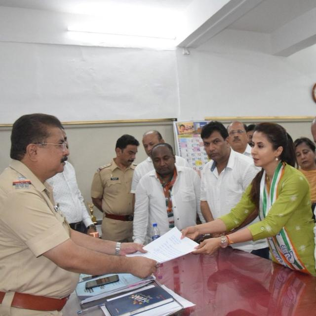 MATONDKAR SEEKS POLICE PROTECTION AFTER CONG-BJP WORKERS CLASH