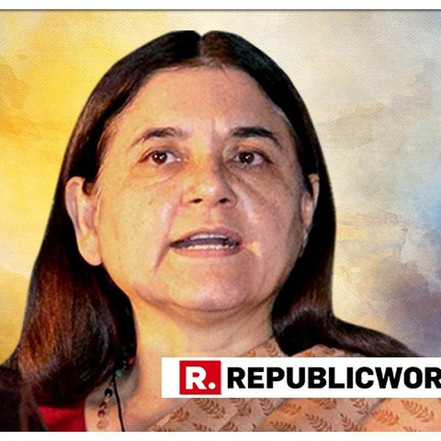 BIG: ELECTION COMMISSION COMES DOWN ON UNION MINISTER MANEKA GANDHI OVER HER POLARISING SPEECH; IMPOSES 48 HOURS CAMPAIGNING BAN
