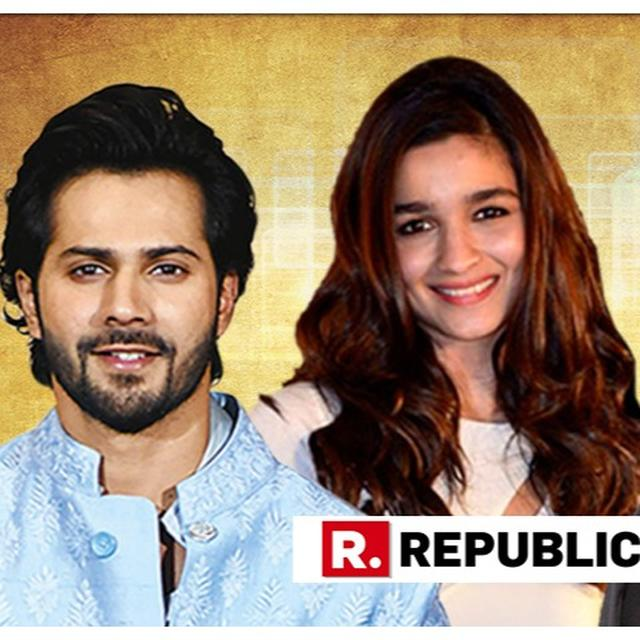 WATCH: ALIA BHATT ACCIDENTALLY CALLING CO-STAR VARUN DHAWAN 'RANBIR' IS MAKING THE INTERNET GO 'AWW'