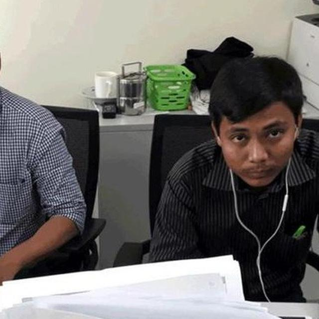 JAILED REUTERS JOURNALISTS WIN PULITZER FOR ROHINGYA REPORT