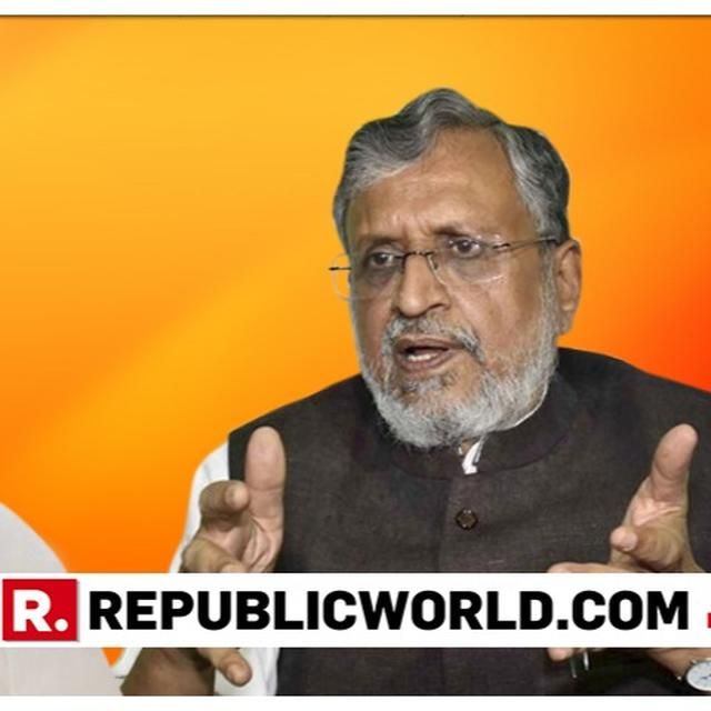 UP IN ARMS AGAINST RAHUL GANDHI, BJP'S SUSHIL MODI TO FILE DEFAMATION SUIT FOR CONGRESS CHIEF'S 'SARRE MODI CHOR ' REMARK