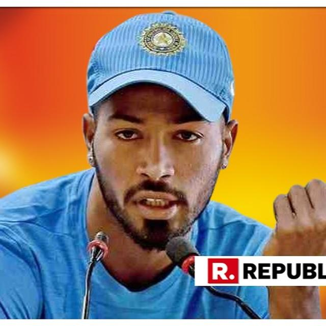 EVERYONE HAS A SETBACK, THE TIME AWAY HELPED ME GET BETTER: HARDIK PANDYA