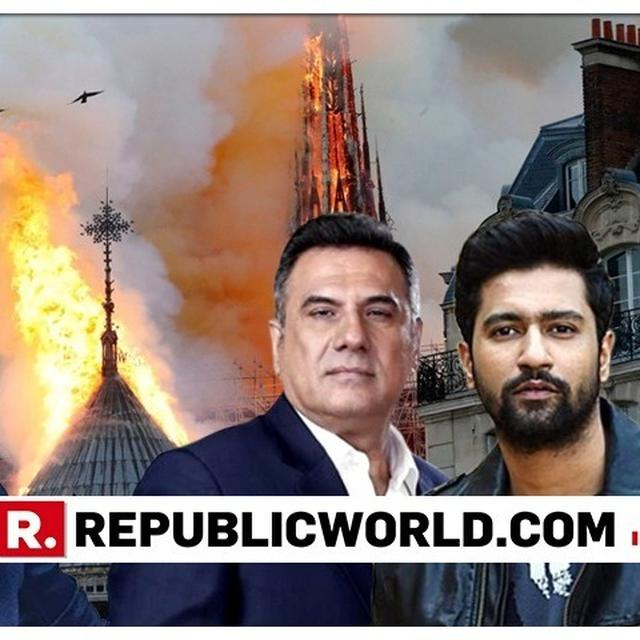 VICKY KAUSHAL, BHUMI PEDNEKAR, RITEISH DESHMUKH AND OTHERS FROM B-TOWN REACT TO NOTRE DAME FIRE TRAGEDY