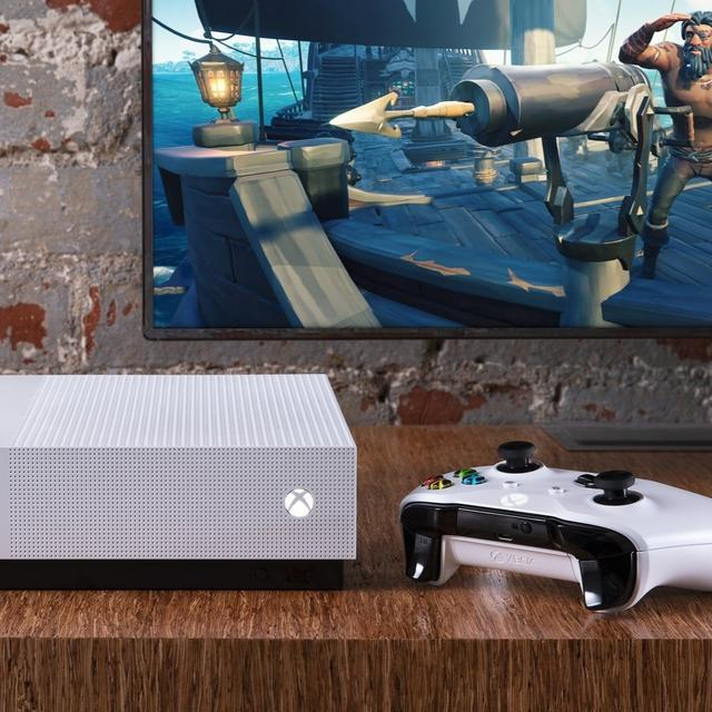 MICROSOFT ANNOUNCES DISK-FREE XBOX ONE S ALL-DIGITAL CONSOLE, SHIPPING STARTS FROM MAY 7