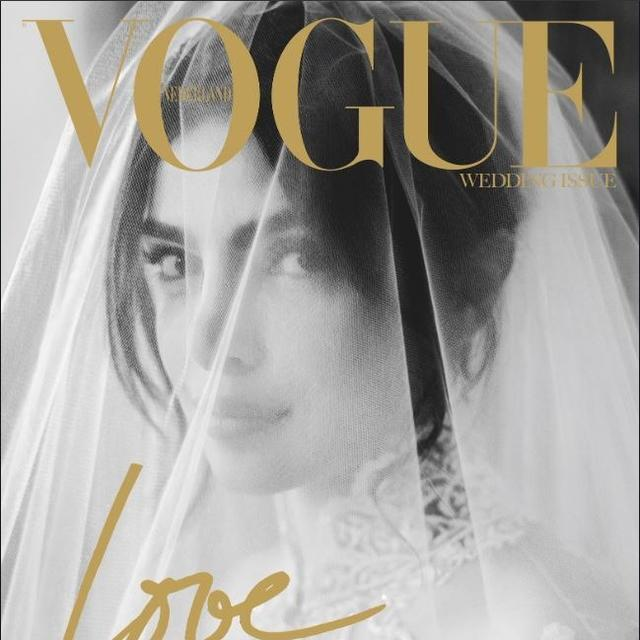 PRIYANKA CHOPRA'S STUNNING WEDDING PICTURES CONQUER NEW FRONTIER, MAKE IT TO COVER OF A NETHERLANDS MAGAZINE