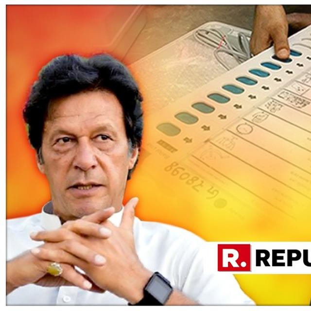 IMRAN KHAN'S REMARKS ABOUT BJP WIN AN ATTEMPT TO INFLUENCE POLLS WITH 'REVERSE SWING'': PM MODI