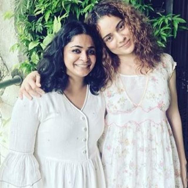 KANGANA RANAUT PENS A HEARTFELT NOTE FOR 'PANGA' DIRECTOR ASHWINY IYER TIWARI AND IT IS ALL THINGS SWEET. SEE IT HERE