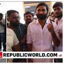 LOK SABHA ELECTIONS: AFTER 'THINK AND VOTE' APPEAL TO FANS, DHANUSH EXERCISES HIS DEMOCRATIC RIGHT IN CHENNAI