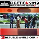 WATCH | CLASHES ERUPT BETWEEN VOTERS AND POLICE IN RAIGANJ AS ALLEGED BIKE-BORNE YOUTHS WERE SEEN STOPPING VOTERS